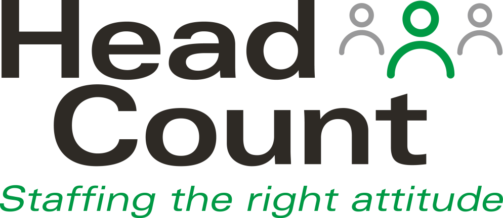 HeadCount - staffing the right attitude logo